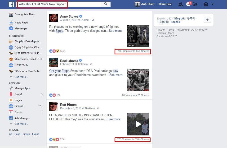 huong dan tao post an dark post de quang cao facebook 17