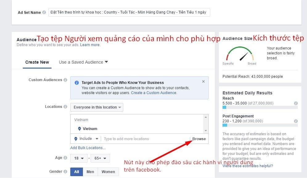 huong dan tao post an dark post de quang cao facebook 9