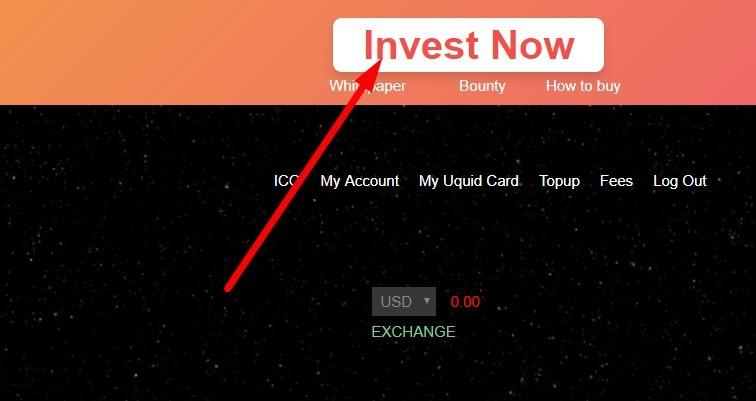 Nhấn Invest Now để đầu tư