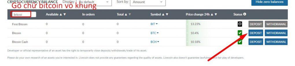 Hướng Dẫn Tạo Tài Khoản Giao Dịch Coin ICO sàn Livecoin A-Z