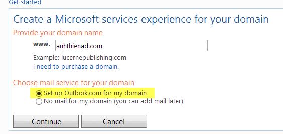 cau hinh email ten mien voi dich vu cua hotmail 2