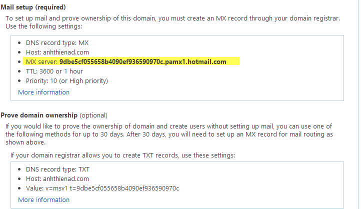 cau hinh email ten mien voi dich vu cua hotmail 6