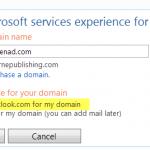 Cấu hình email tên miền với dịch vụ của Hotmail
