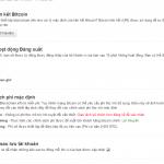 Đầu Tư Bitcoin : Tạo Ví Online cho Bitcoin