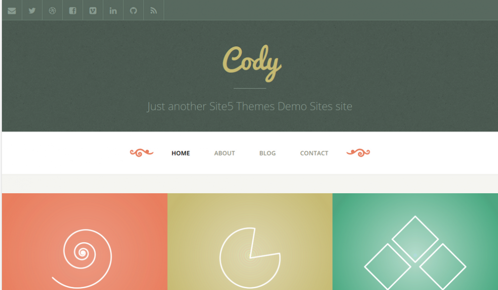 premium theme cody simple wordpress theme for blogs and personal websites