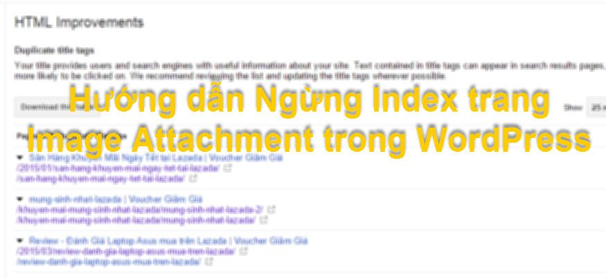 huong dan ngung index trang image attachment pages trong wordpress 2