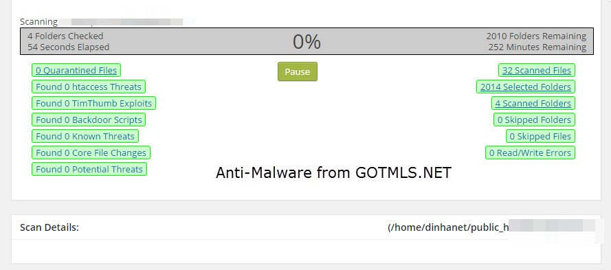 Anti-Malware from GOTMLS