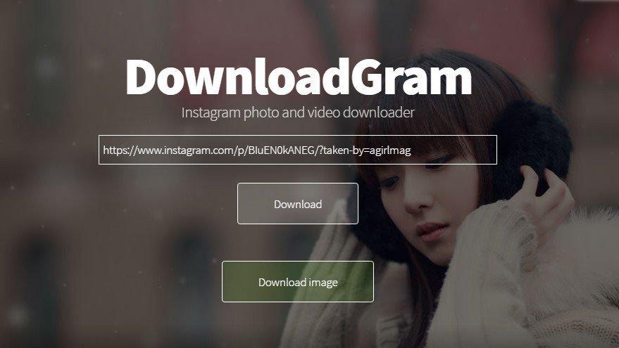 Download Ảnh Instagram về Máy Tính