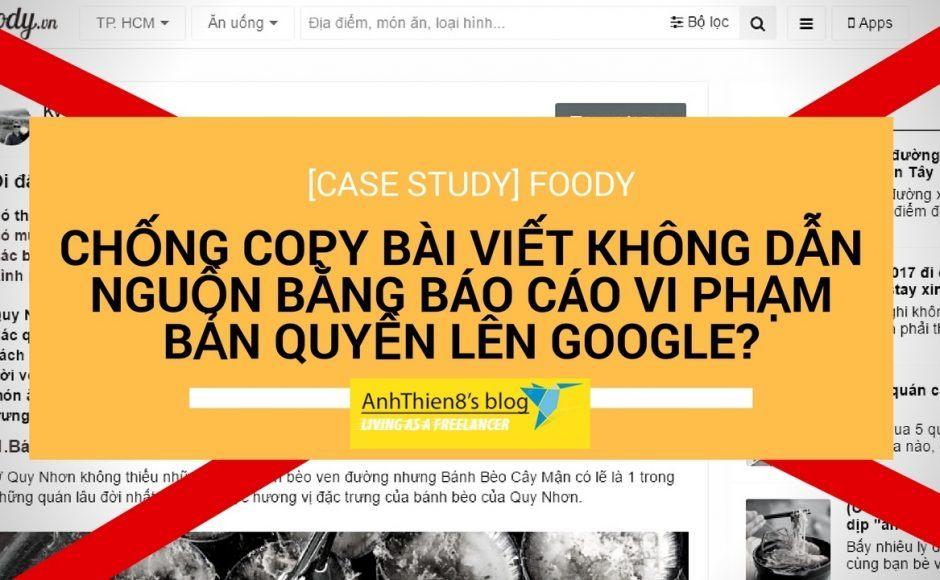 Hướng dẫn gỡ bỏ bài viết sao chép từ website của bạn mà không chịu để nguồn