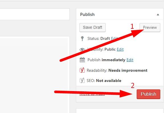 Hình ảnh hướng dẫn tìm nút Preview trên khung soạn thảo