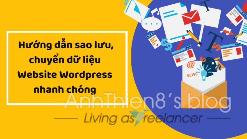 huong dan sao luu chuyen du lieu website wordpress nhanh chong voi plugin all in one backup