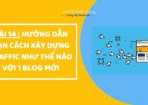 BÀI 14 : Hướng dẫn bạn cách xây dựng traffic như thế nào với 1 blog mới