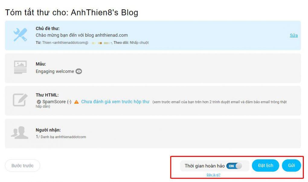 huong dan gui ban tin email marketing getresponse